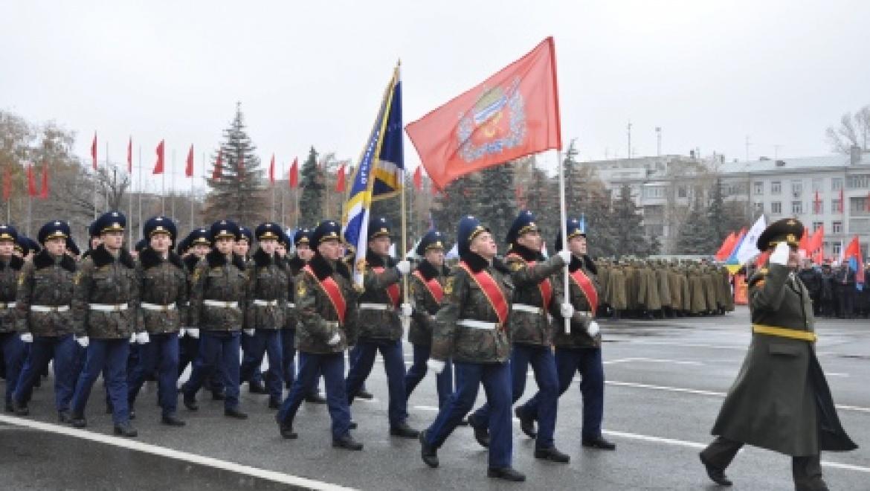 Оренбуржцы приняли участие в «Параде Памяти»