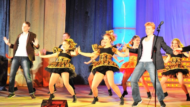 Танцы и фокусы «Студенческой осени»