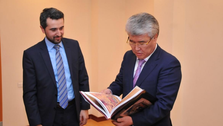 Казахстан и Армения укрепляют сотрудничество в сфере сохранения и восстановления рукописного и печатного наследия