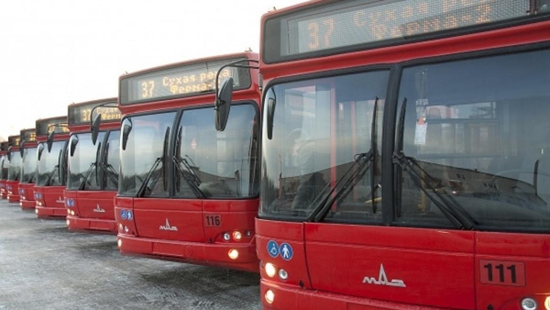 В новогоднюю ночь работа пассажирского транспорта в Казани будет продлена до 2 часов ночи