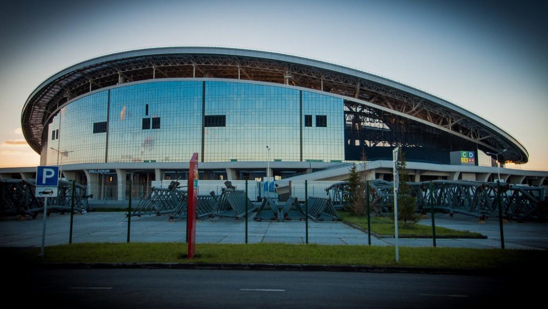 На территории стадиона «Казань-Арена» открылся Детский город «КидСпейс»