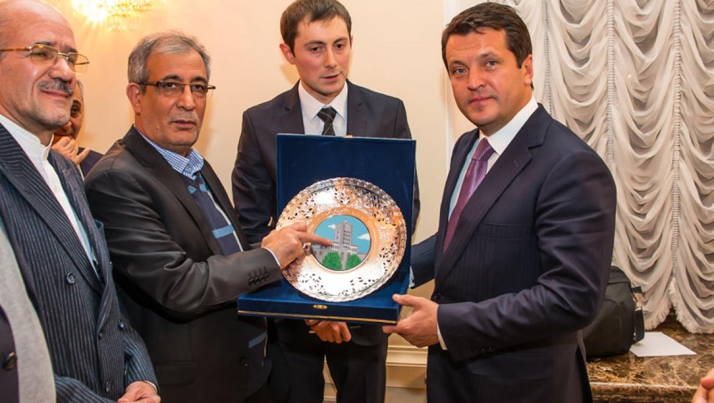 Ильсур Метшин встретился с делегацией иранского Тебриза
