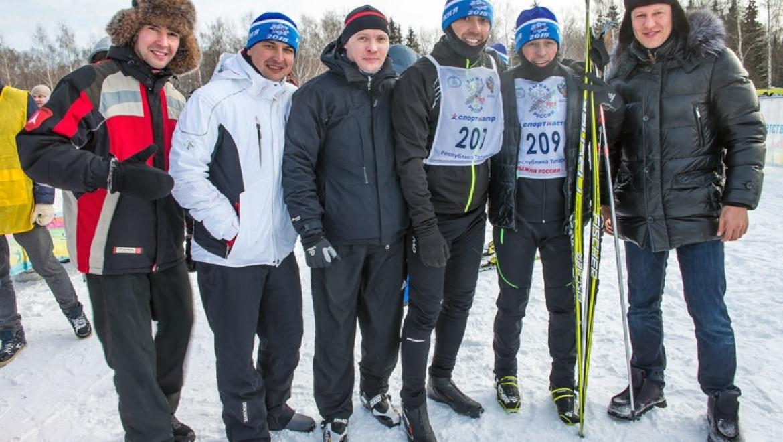 В Казани состоялась Всероссийская массовая лыжная гонка «Лыжня России-2015»