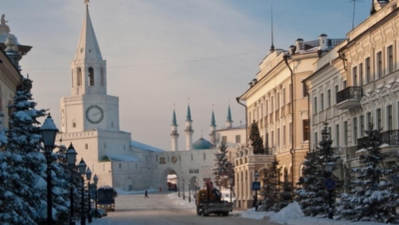 Казань входит в пятерку городов России для поездок на День защитника Отечества