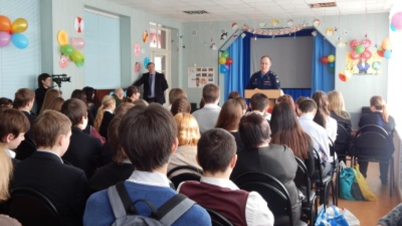 Школьники встретились с Героями России