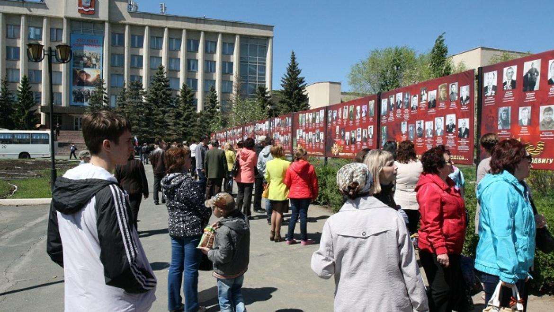 В Новотроицке в третий раз стартовала патриотическая акция «В наших сердцах»