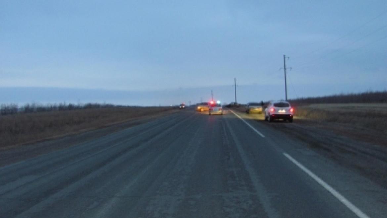 На Орской трассе водитель погиб в ДТП
