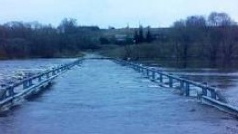 Паводок в Оренбургской области: 19 мостов в зоне затопления