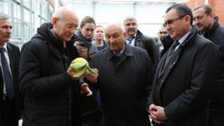 Министр сельского хозяйства России Николай Федоров и Рустэм Хамитов посетили сельхозпредприятия Башкортостана