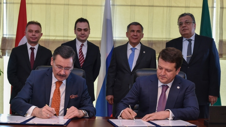 Мэры Казани и Анкары подписали программу развития побратимских связей