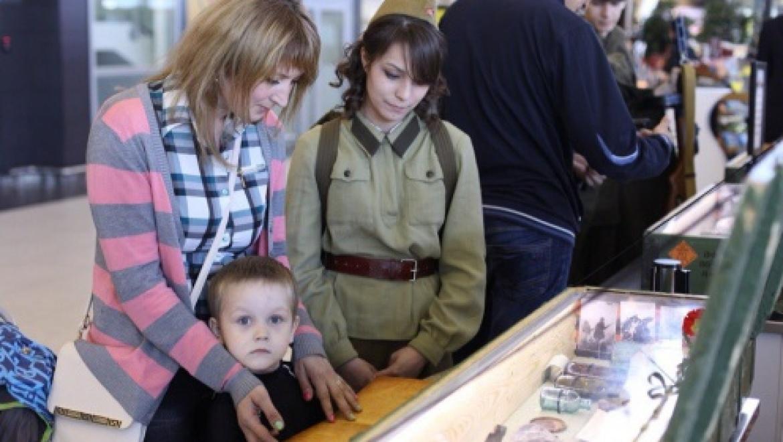 В аэропорту Казани открылась экспозиция в честь 70-летия Победы