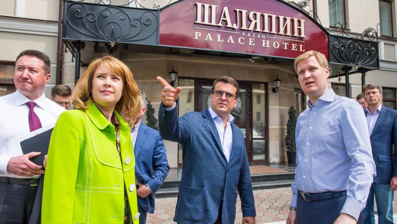 Ильсур Метшин оценил готовность гостиниц Казани к приему спортсменов ЧМ-2015