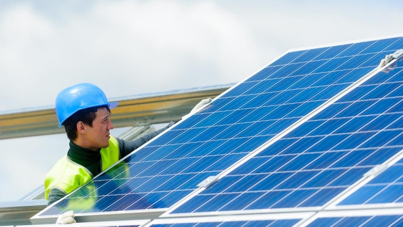 Строительство солнечной фотоэлектрической станции  в Орске ведется полным ходом