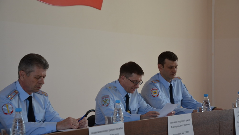 Генерал полиции Михаил Давыдов остался не доволен работой Кувандыкского подразделения