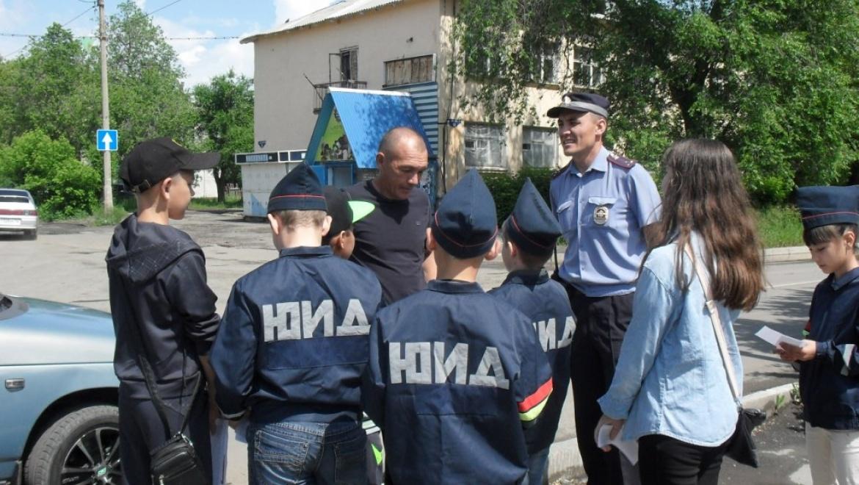 В Гае улицы патрулируют юные инспекторы