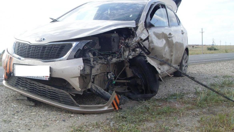 ДТП на трассе Оренбург-Акбулак: 2 пассажира госпитализированы