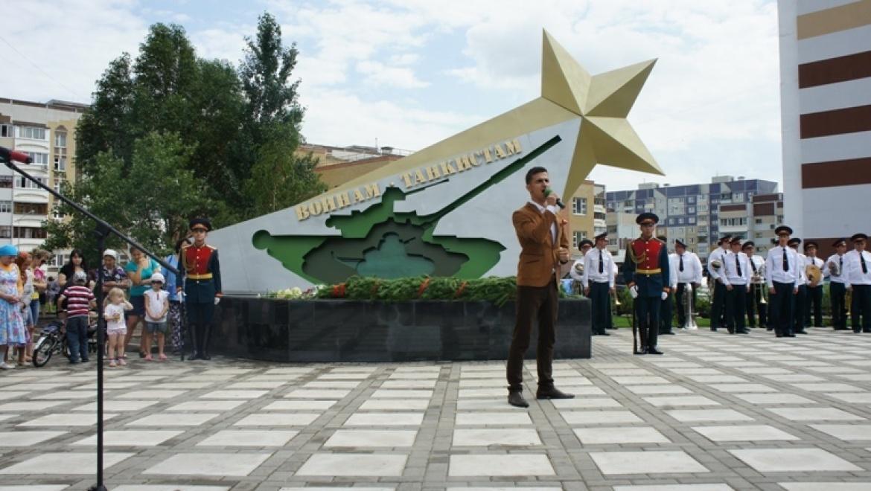В Советском районе Казани открылся монумент воинам-танкистам