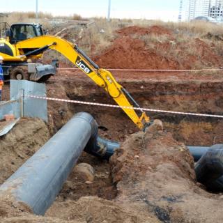 Завершается капитальный ремонт водоводов