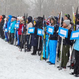 Сотрудники УМВД России по Оренбургской области провели лыжные соревнования