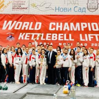 Оренбурженка Диана  Желтухина - чемпион  мира по гиревому спорту