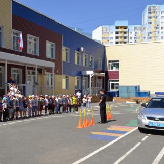 Конкурс рисунков в детском саду №20 Оренбурга