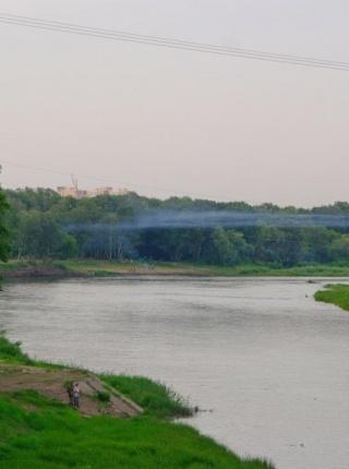 Июньский вечер на Урале