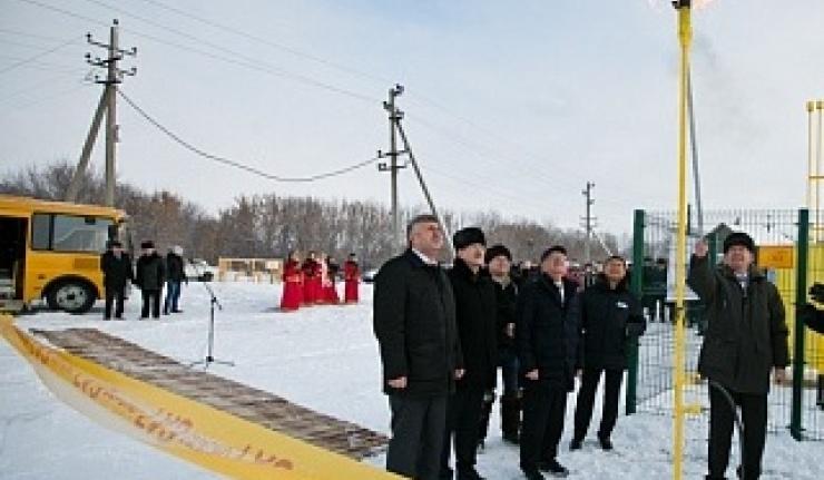 """В село Жданово Сакмарского района """"пришел"""" газ"""