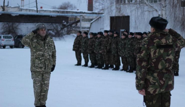 Бойцы Росгвардии отметили День защитника Отечества