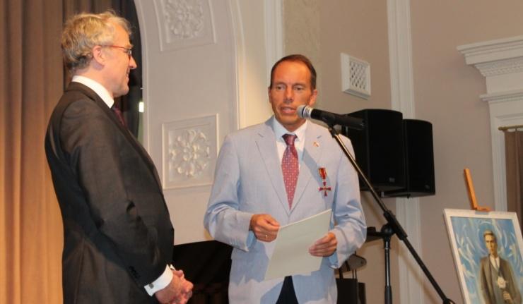 Игорь Храмов стал первым оренбуржцем, удостоенным правительственной награды ФРГ