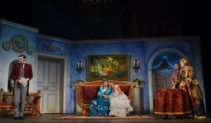 Гастроли Крымско-татарского музыкально-драматического театра в Оренбурге