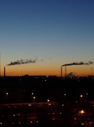 Восход в октябре